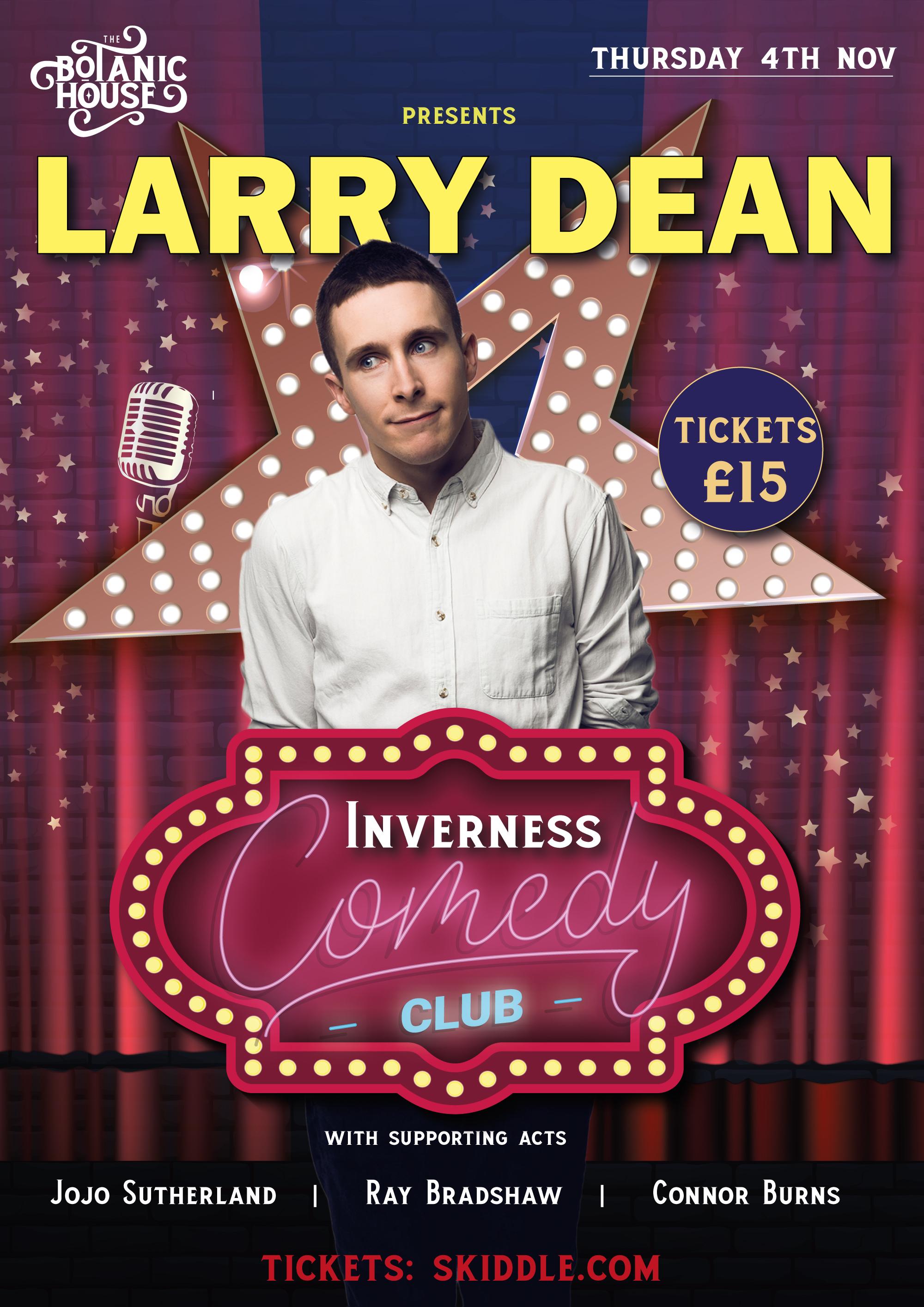 Inverness Comedy Club November